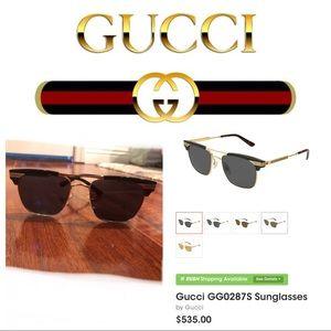 Gucci- black sunglasses GG0287S